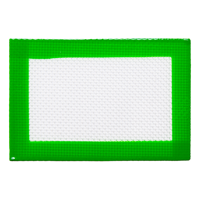 Mini Green Silicone Mat 3X5 inches