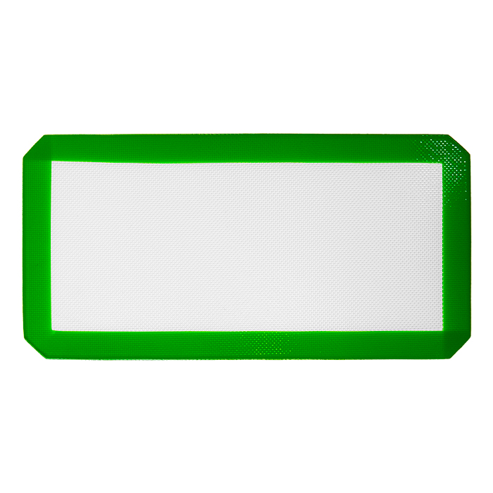 Medium Green Silicone Mat 15x8 inches