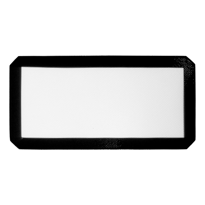Medium Black Silicone Mat 15x8 inches