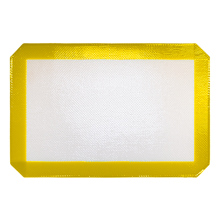 Small Yellow Silicone Mat 12x8 inches