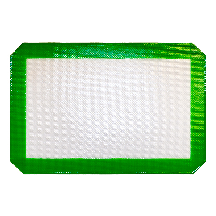 Small Green Silicone Mat 12x8 inches