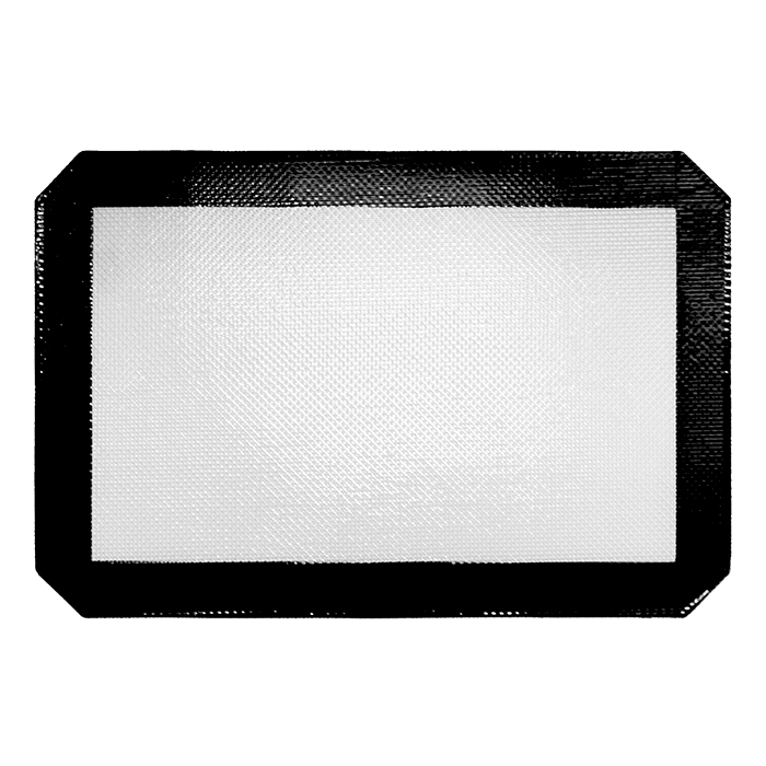 Small Black Silicone Mat 12x8 inches