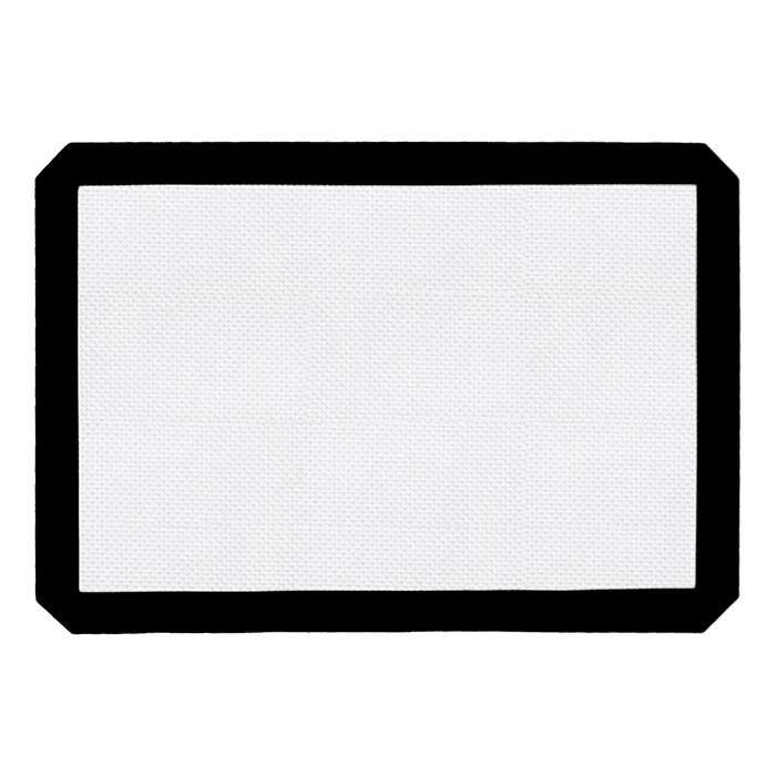 Large Black Silicone Mat 11x16 inches