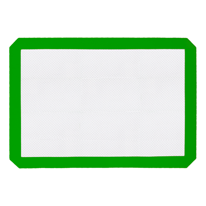 Large Green Silicone Mat 11x16 inches