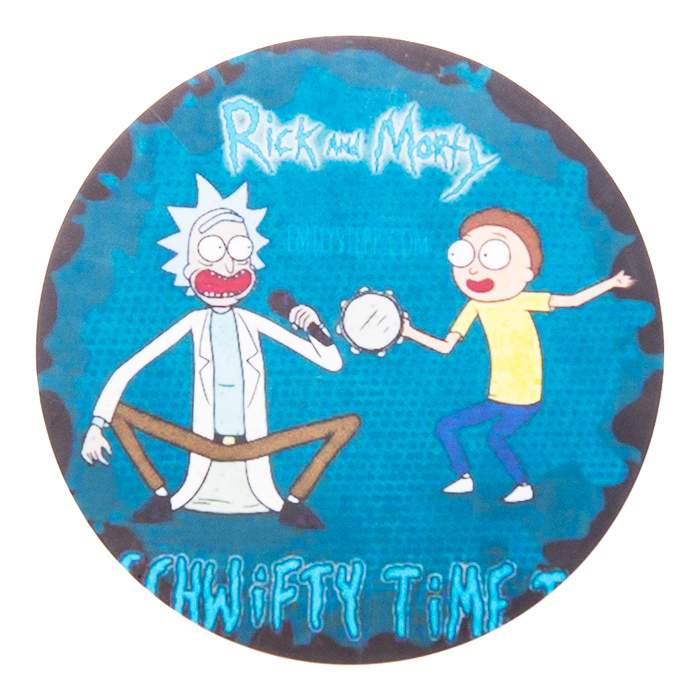Silicone Rick & Morty Green  Bong Mat