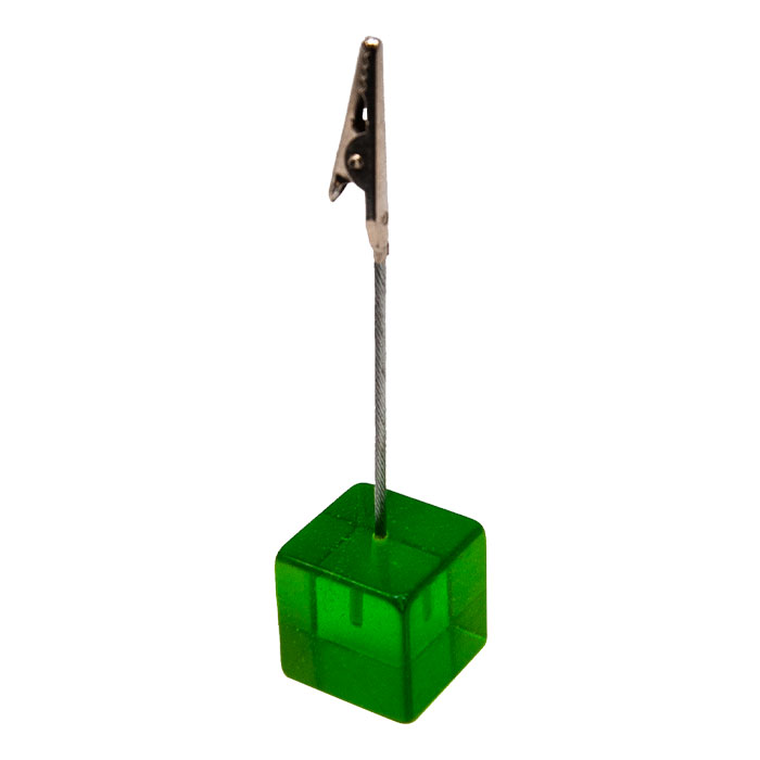 Green Square Roach Clip