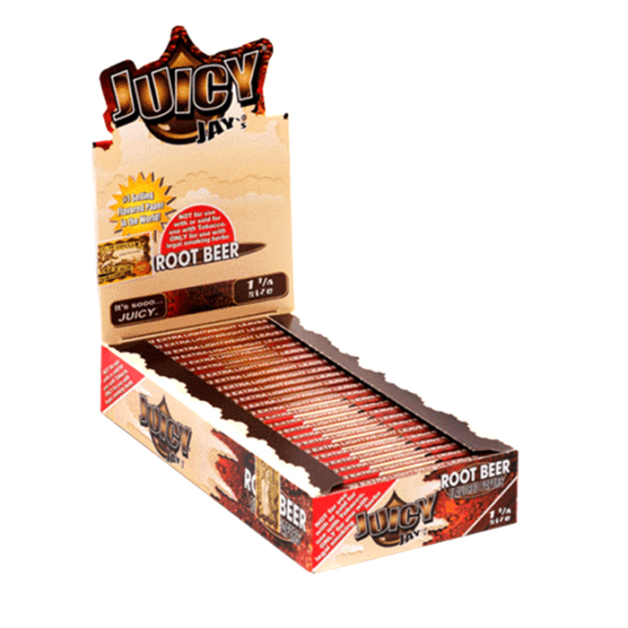 JUICY JAY  ROLLING PAPERS ROOT BEER 1.25
