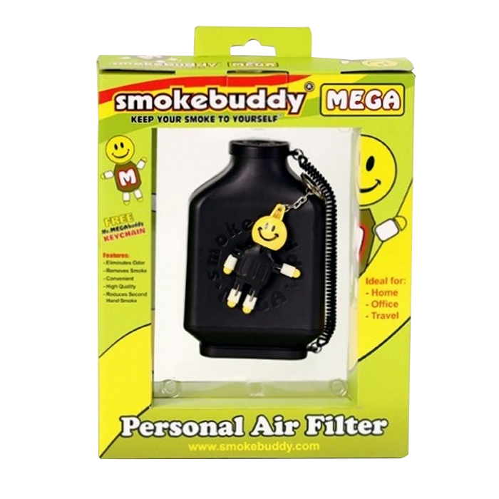 SMOKE BUDDY MEGA BLACK