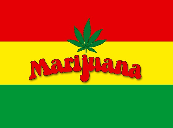 MARIJUANA FLAGS
