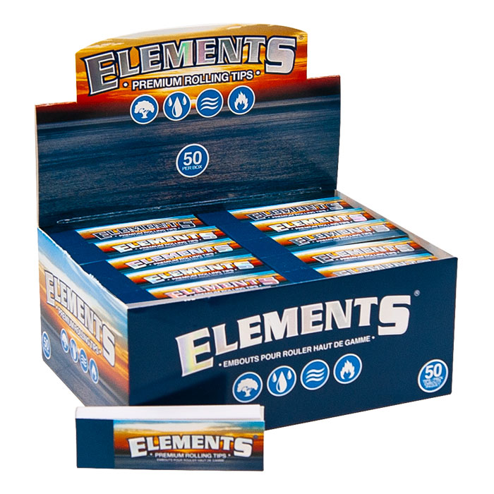 ELEMENT PREMIUM ROLLING TIPS 50 PER BOX