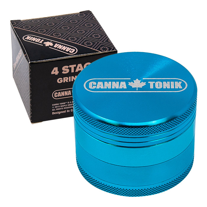 CANNATONIK ANODIZED ALUMINIUM GRINDER 56 MM LIGHT BLUE