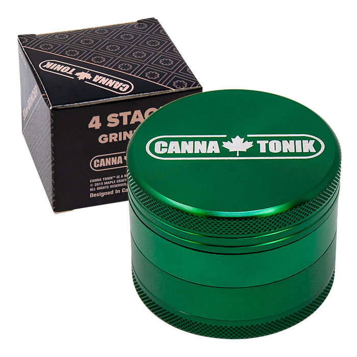 CANNATONIK ANODIZED ALUMINIUM GRINDER 50 MM GREEN