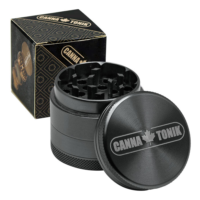 CANNATONIK ANODIZED ALUMINIUM GRINDER 40MM GREY