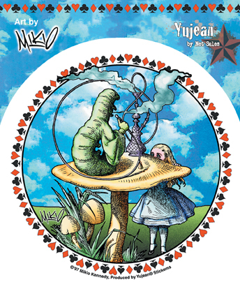GO ASK ALICE STICKER