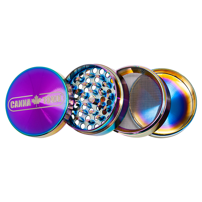 CANNATONIK RAINBOW ALUMINIUM GRINDER 56MM