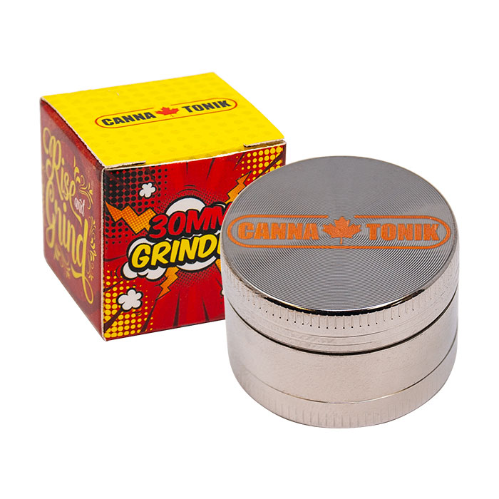 ALUMINIUM GRINDER 3 STAGE 30MM