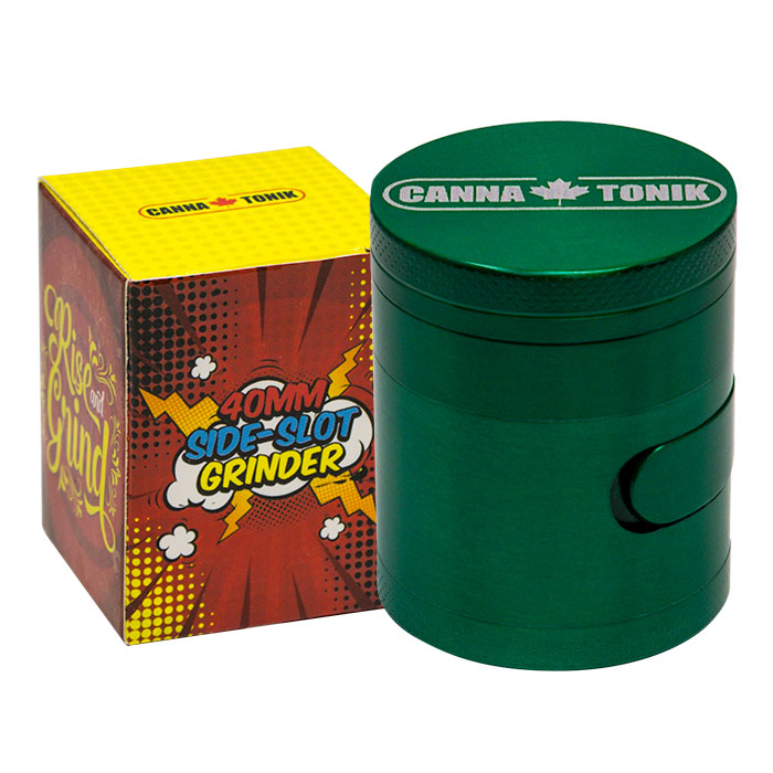 CANNATONIK ALUMINIUM SIDE WINDOW GRINDER GREEN