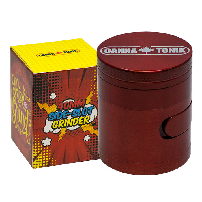 CANNATONIK ALUMINIUM SIDE WINDOW GRINDER RED