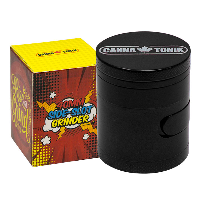 CANNATONIK ALUMINIUM SIDE WINDOW GRINDER BLACK