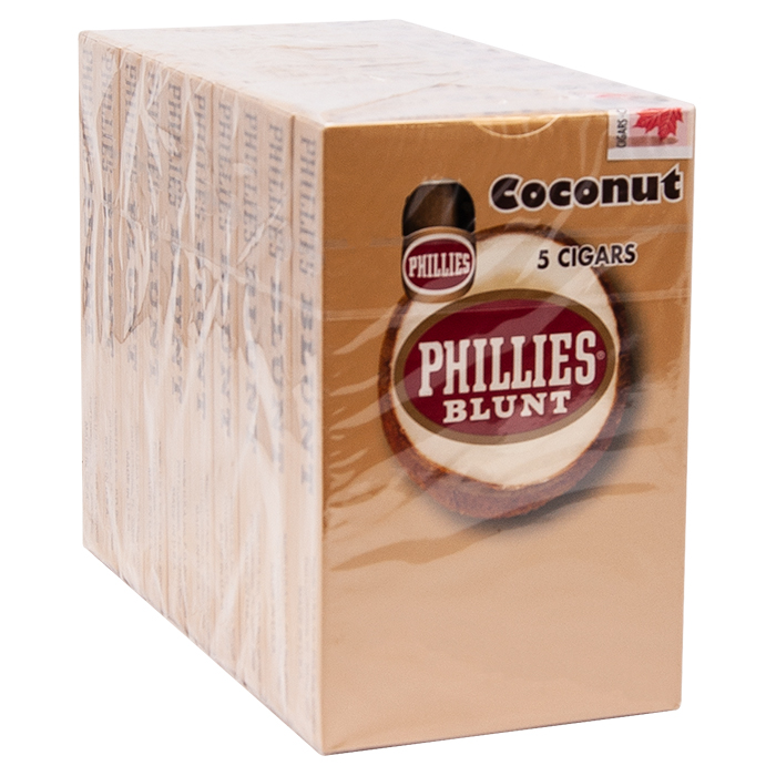 Phillies Blunt Coconut Pack Of 5 Cigar
