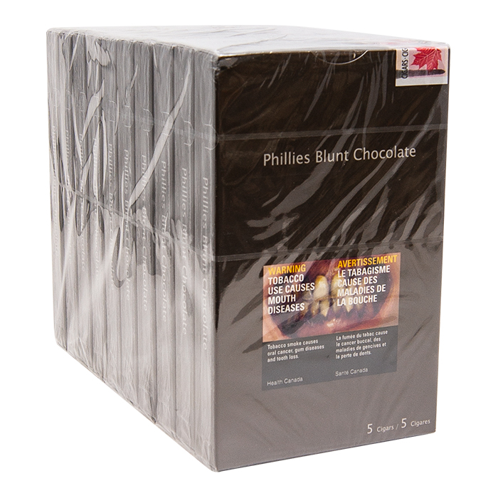 Phillies Blunt Chocolate Pack Of 5 Cigar