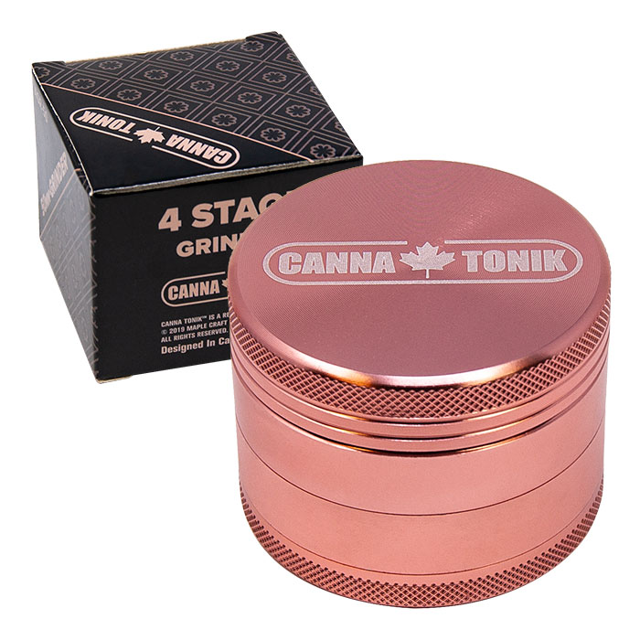 CANNATONIK ANODIZED ALUMINIUM GRINDER 30 MM PINK