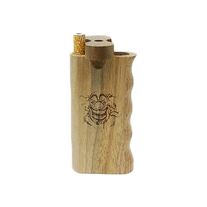CLOWN WOODEN DUGOUT 4 INCHES