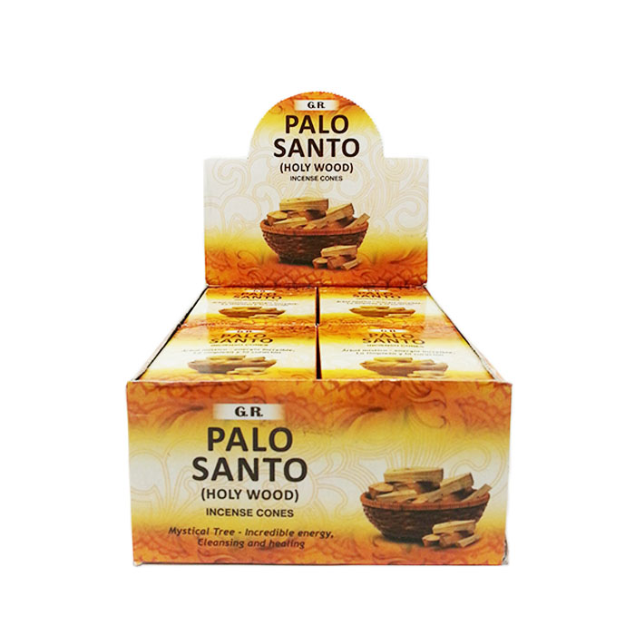GR PALO SANTO CONE DISPLAY OF 12