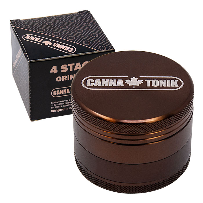 CANNATONIK ANODIZED ALUMINIUM GRINDER 50MM COFFEE