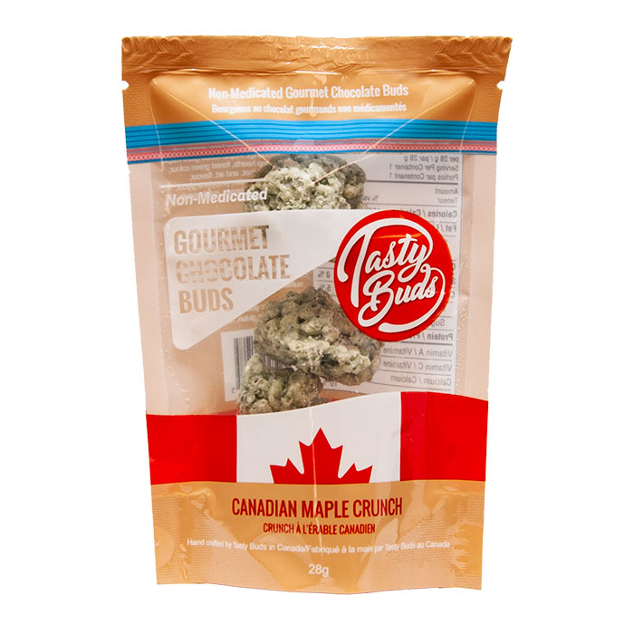 Tasty Buds Canadian Maple Crunch Chocolate Cookies 28 Gm